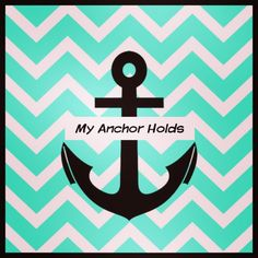 My anchor holds within the veil! ❤⚓❤