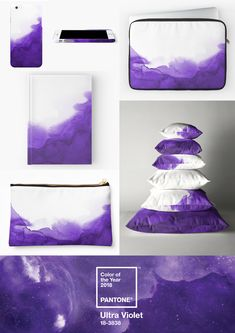 Products which tie in nicely with the Ultra Violet Pantone Colour of the Year 2018 #ultraviolet #pantonecolouroftheyear #purple