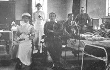 WWI photos of soldiers at Shepreth hospital published