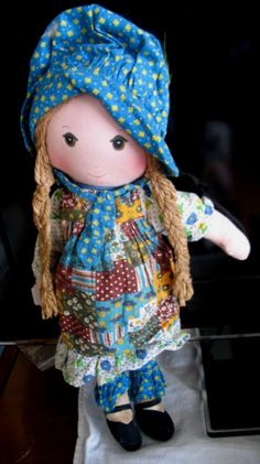 HOLLY HOBBIE ORIGINAL RAG DOLL