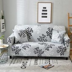 Printed Sofa Slipcovers Elastic Stretch Sectional Sofa Cover Armchair Cover For Living Room Couch Cover Seat Loveseat Slipcovers, Sectional Sofa, Sofa Protector, Printed Sofa, Old Sofa, L Shaped Sofa, 230, Couch Covers, How To Clean Furniture
