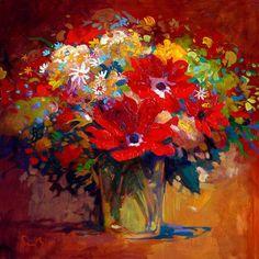 Simon Bull Studios - Floral - In The Morning Light