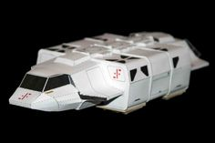 V - The Visitors - Papercraft - Original series Skyfighters, Tankers, etc.