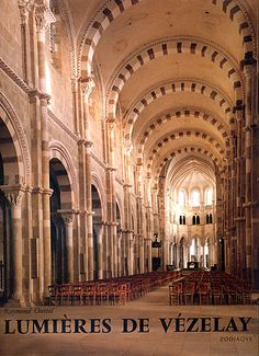 Vezelay, France. Basilica of St. Mary Magdalene