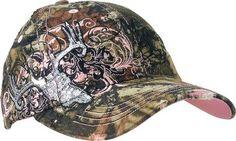 Cabela's: Women's Mossy Oak® Deer Skull Cap