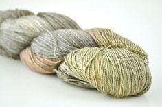 Handmaiden Yarn - Sea Silk  Pewter