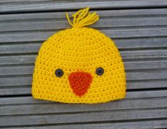 Little Bird Hat, Easter Chick Hat, Tweet Birdie Hat,Blue Bird Hat, Crochet Baby Hat, Photo Prop. 0-3 or 3-6 months old size.MADE TO ORDER.. $11.00, via Etsy.
