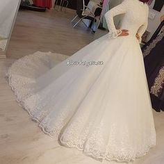 New Photo Hijab Models . Tips Lovely Wedding Dresses ! The present wedding dresses 2019 contains a dozen various dresses in the cu Crystal Wedding Dresses, Wedding Dress Backs, Gorgeous Wedding Dress, Wedding Dress Sleeves, Dress Lace, Muslim Wedding Gown, Muslim Wedding Dresses, Bridal Dresses, Gown Wedding