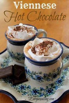 Viennese Hot Chocolate www.europescalling.com