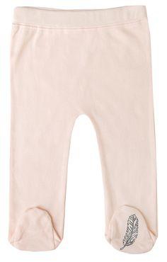 "Finn + Emma ""Pearl"" Organic Footed Pants"