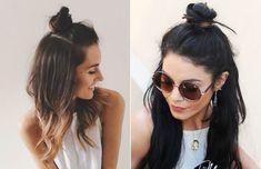 Inspirações de penteado para o Rock in Rio: half bun