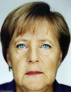 Angela Merkel ©Martin Schoeller