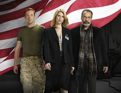 Claire Danes, Mandy Patinkin, Damian Lewis, Homeland