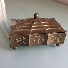 Wiener Werkstatte , Dagobert Peche , Hagenauer style brass box