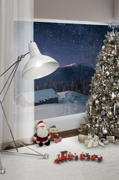 Christmas time ideas for kid's bedroom decorations | Find the fun ideas at WWW.CIRCU.NET