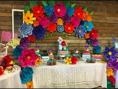 Quinceanera Party Planning – 5 Secrets For Having The Best Mexican Birthday Party Mexican Candy Table, Mexican Party Decorations, Mexican Fiesta Party, Fiesta Theme Party, Party Themes, Party Ideas, Mexico Party Theme, Mexican Desserts, Theme Parties