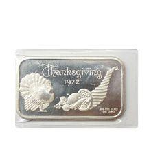 1oz Silver Art Bars. http://www.gainesvillecoins.com/category/281/2014-silver-bullion-coins.aspx