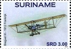 Stamp: Aircrafts (Suriname) (Aircrafts) Col:SR 2016-077