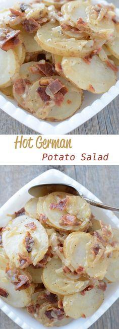 Hot German Potato Salad | http://NoBiggie.net
