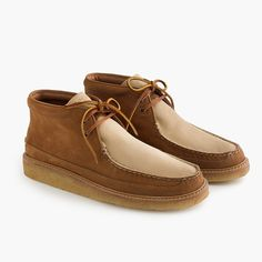7daf1ca86d3dfa Sperry® for J.Crew crepe soled leather chukka boots