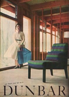 Edward Wormley Designs Dunbar Furniture,1954