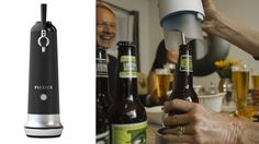 FIZZICS® WAYTAP™ System. Take any single canned or bottled beer and get the perfect head to your drink out of a tap.