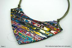 Amazing colours necklace by Beatriz Cominatto