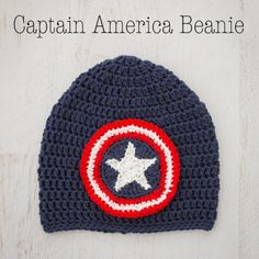 I made this Crochet Captain America Beanie for my 6-year-old son.  It's his all-time favorite super hero and he really wanted a beanie with the Captain America shield on it.  I was happy to get to working on it right away!  I'm posting the crochet pattern here so that you can make one too! Capitan …