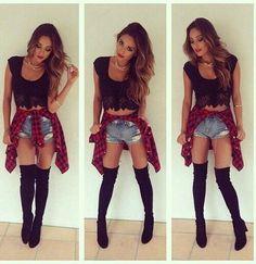 outfit atrevido