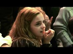 Last days of filming HP... its funny to see belatrix and snape getting sad and being real people...