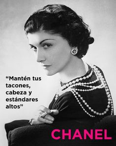 Icon: Coco Chanel Coco Chanel and her pearls. We should all have pearls.Coco Chanel and her pearls. We should all have pearls. Citation Coco Chanel, Coco Chanel Quotes, Citations Chanel, Pearl Quotes, Moda Chanel, Chanel Chanel, Chanel Pearls, Coco Chanel 1920s, Coco Chanel Style