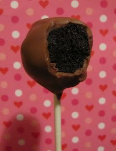 Adventures in Food: Nutella Cake Pops  cake cup of nuttella