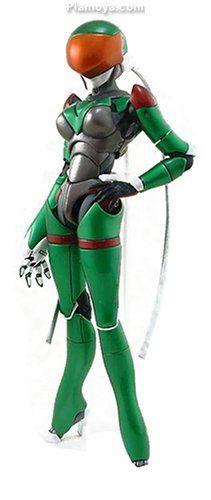 Bubblegum Crisis - Action Figure [Linna] (Hard Suit)