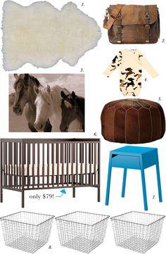 Modern Western Nursery « Spearmint Baby