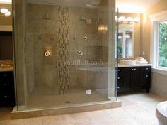 Enormous double shower