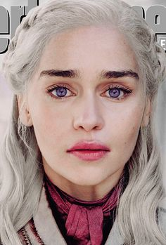 emilia clarke Game of Thrones: EW reveals 16 epic final season cover photos [x] Emilia Clarke Daenerys Targaryen, Game Of Throne Daenerys, Daenerys Targaryen Makeup, Daena Targaryen, Danyeres Targaryen, Game Of Thrones Drawings, Game Of Trone, Got Game Of Thrones, Got Memes