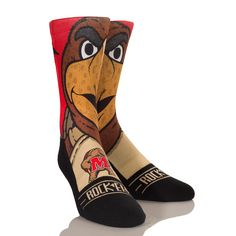 Cheer on your Maryland Terrapins in these Graphic Rock 'Em Socks inspired by their famous mascot, Testudo. S/M - USA Shoe size - L/XL - USA Shoe size - Polyester Cotton Nat Latex Spandex Wsu Basketball, Basketball Shorts Girls, Basketball Games For Kids, Basketball Equipment, Adidas Basketball Shoes, Basketball Compression Pants, Usa Shoes, Fathers Day Sale