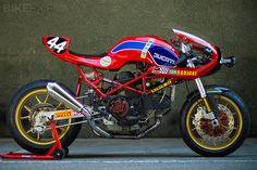 Radical Ducati Monster M900 Custom   Gear X Head