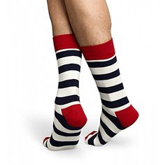 Stripe Sock in Navy and White >>> For more information, visit image link.(It is Amazon affiliate link) #c4c