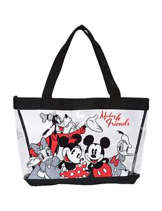 A cute #Disney bag featuring Minnie Mouse, Mickey Mouse, Donald Duck, Daisy Duck & Goofy! $18 and perfect for a trip to Disney World :)