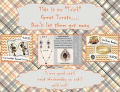 Check out all of the special Last Chance items http://suzannebagley.jewelry.willowhouse.com/category.aspx?zcid=348 If you purchase online be sure to enter mystery host as the name of the host. This will automatically enter you into my mystery host show on 3/31. You could win a bunch of jewelry.