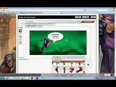Creating a comic strip with Marvel.avi - YouTube