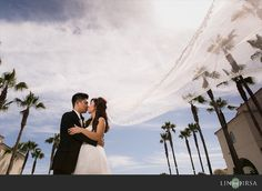 Hyatt Regency Huntington Beach Wedding | Duc and Loan -- Call (310) 882-5039 if you are looking for So Cal wedding ministers. https://OfficiantGuy.com