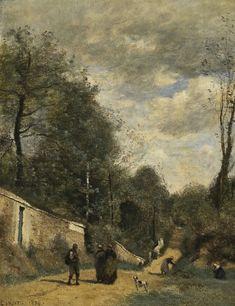 17 Fantastiche Immagini Su Corot Camille 1796 1875 Nel 2019