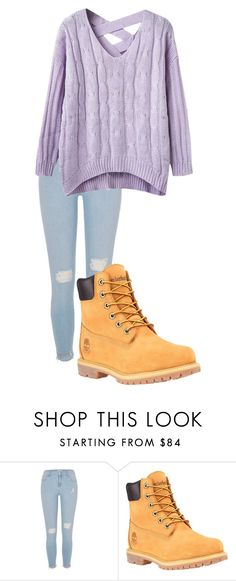 """""""January 8, 2017"""" by megaspirit on Polyvore featuring River Island and Timberland"""