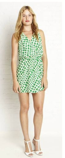 Parker Collar Wrap Dress - Dresses - Estilo
