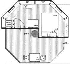Plan des Cabanes - Cabanes de Labrousse - Cabanes perchées enArdèche
