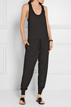 Stella McCartney - Wool-jersey Jumpsuit - Black - IT