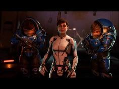Mass Effect Andromeda New PS4 PRO Gameplay - Mass Effect Andromeda Trailer