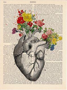 Anatomy print Medical poster Vintage Book Print Wall decor